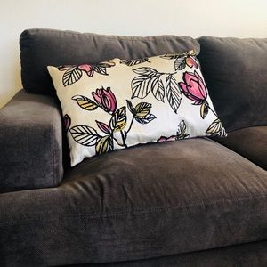 Other - Stylish Floral Accent Pillow